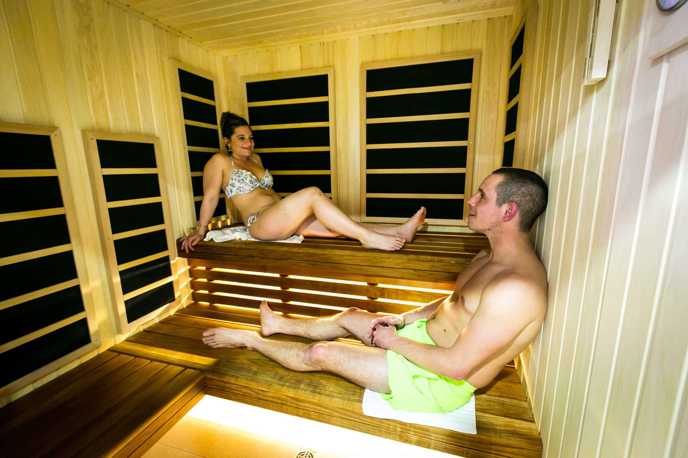 Profitez des bienfaits de nos saunas et hammam